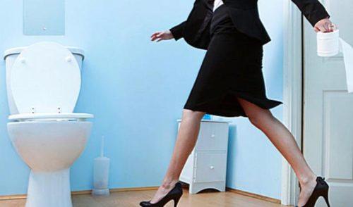 zhenschina v tualete