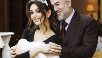 Мисс Москва – 2015 родила экс-королю Малайзии сына