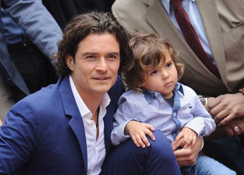 Сынишке популярного голливудского актера Орландо Блума едва исполнилось 7 лет