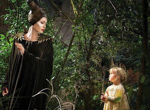 дочь Анжелины Джоли Вивьен исполнила в этой картине роль принцессы Авроры в детстве