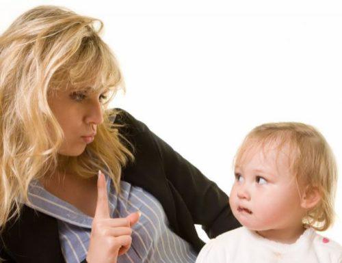 Ни в коем случае нельзя потакать своему малышу