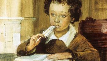 Кратко о Великом поэте Саше Пушкине