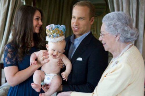 Принц джордж рождение