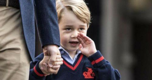 Принц джордж в школе